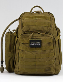 Advanced Operative Bug Out Bag with White Backgound