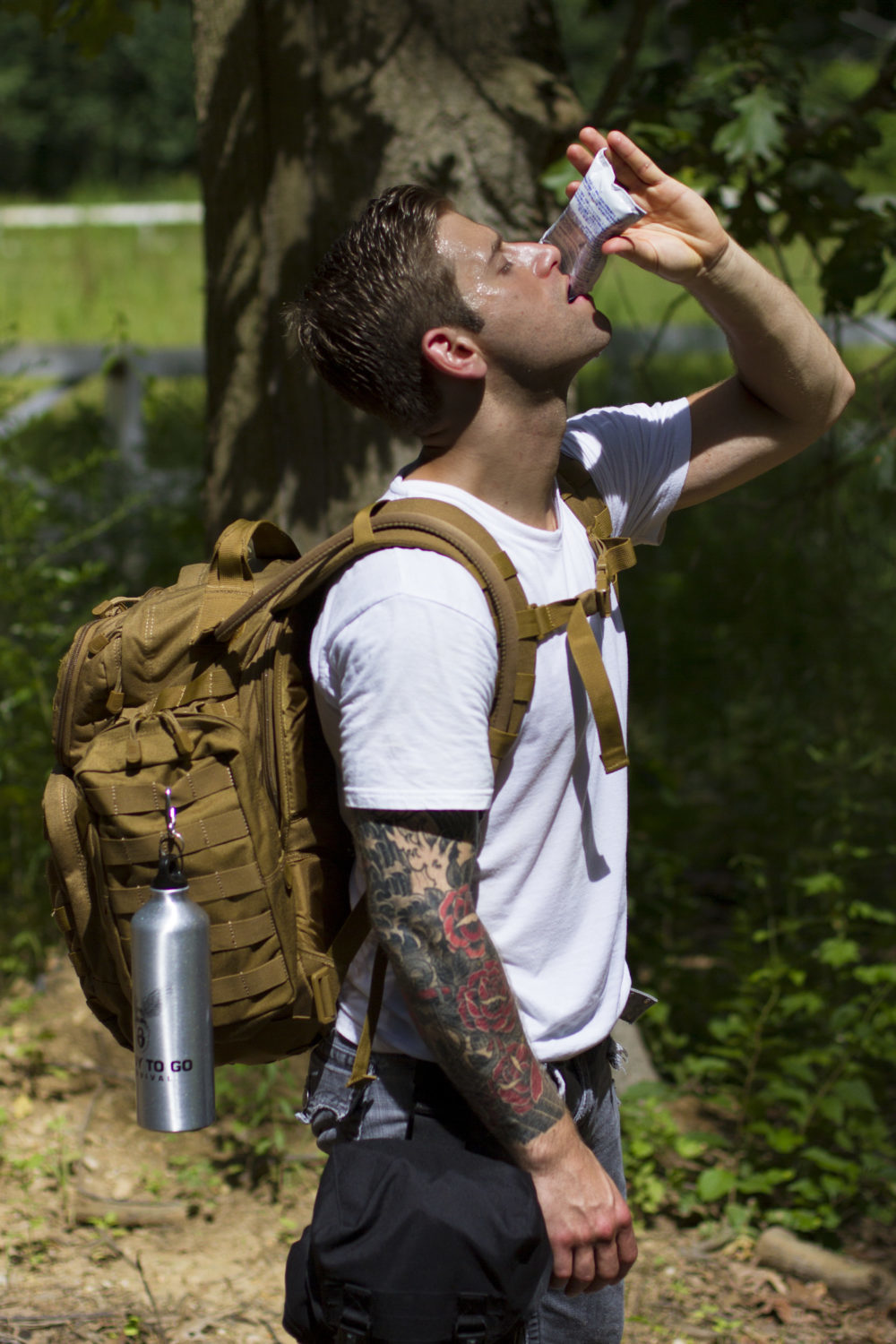 Survival Backpack By Ready To Go Survival Advanced Operative