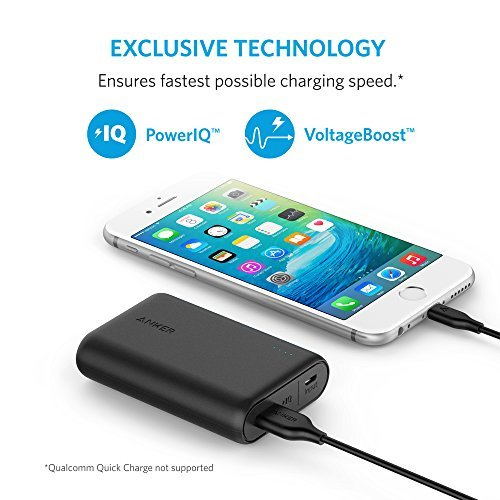 Anker 10000 mAh Battery Pack in Action