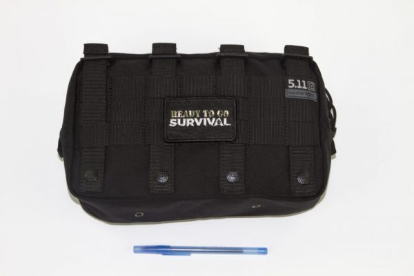 EDC Kit Top View with White Background