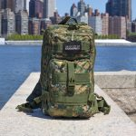 Tactical Traveler Survival Kit Closeup with NYC Background