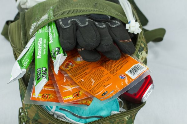 Tactical Traveler Survival Kit – Open Pockets