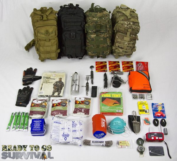 Tactical Traveler Survival Kit – All Colors