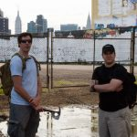 Chris and Fabian at 5Pointz with TUUSK