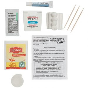 Dental First Aid Kit Contents