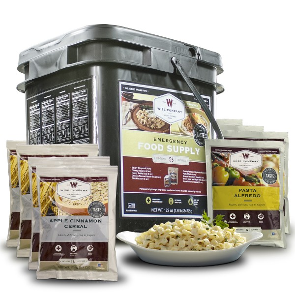 Survival Food Kit From Wise Company 56 Serving Of Freeze