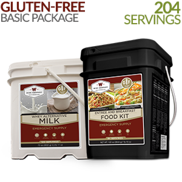 Gluten Free Emergency Food Basic Kit – Wise Food
