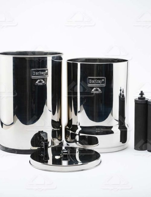 Survival Water Purifier Crown System elements