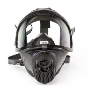 Drager CDR 4500 Military Grade Gas Mask front view