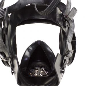 Drager CDR 4500 Military Grade Gas Mask inside view