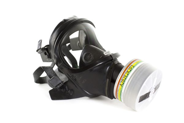 Drager CDR 4500 gas mask with filter