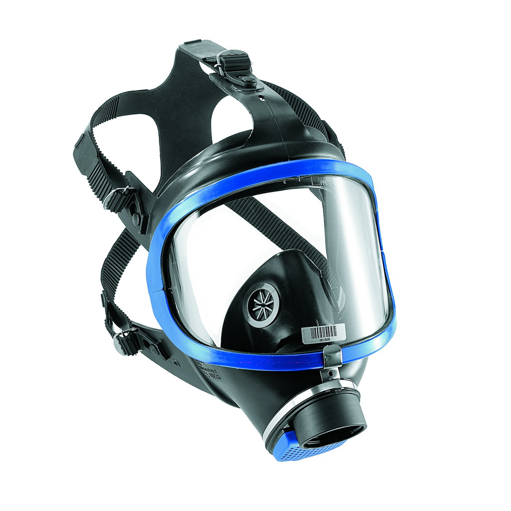 Drager 6300 Tactical Gas Mask on White Background