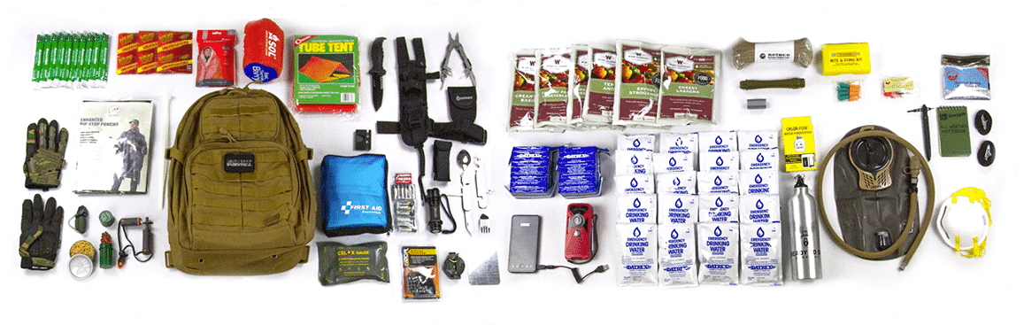 Hurricane checklist on the floor with equipment