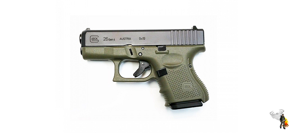 One of the best conealed carry handguns of all time - Glock 26