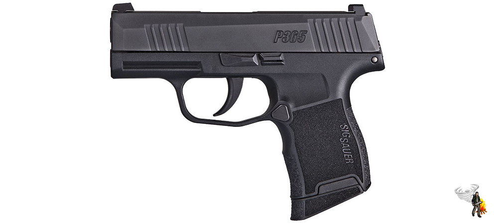 One of the best conealed carry handguns of all time - SIG P365
