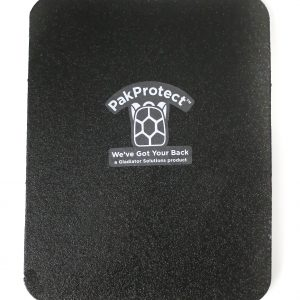 PakProtect Bulletproof backpack insert on white background